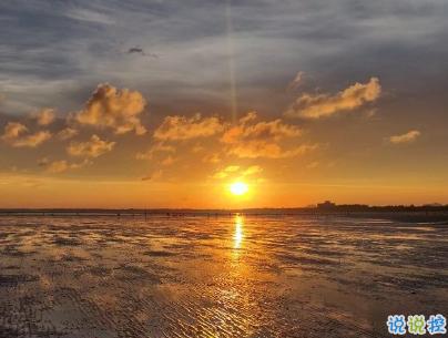 看日出日落的心情说说带图片 欣赏日出日落的句子5