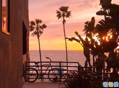 看日出日落的心情说说带图片 欣赏日出日落的句子6