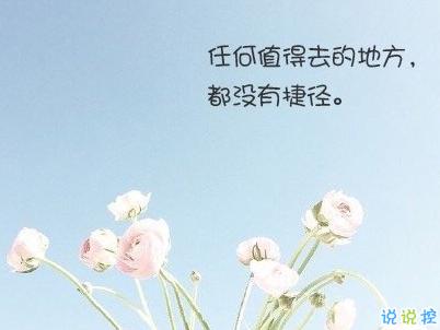 經典文藝短句子帶圖片 越努力越幸運10