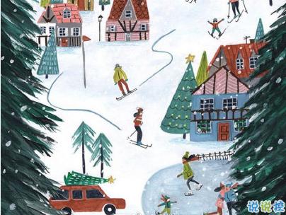 2019圣誕節發的空間說說帶圖片 最美圣誕節句子精選7