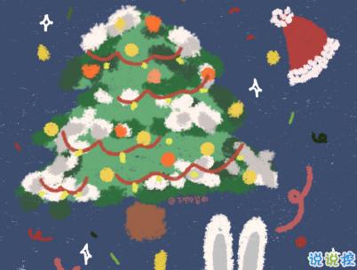2019圣誕節發的空間說說帶圖片 最美圣誕節句子精選10