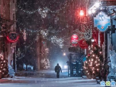 2019圣誕節發的空間說說帶圖片 最美圣誕節句子精選6