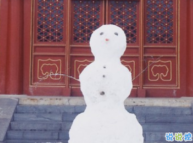 2020年的第一场雪微信说说 下雪天文案简短唯美2