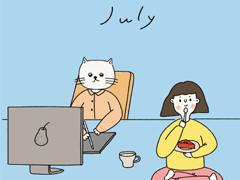 七月发朋友圈的的可爱小短句 2020七月温暖可爱说说