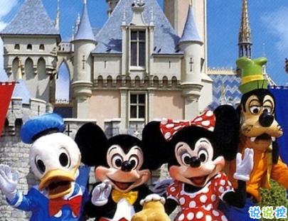 適合去迪士尼游玩發的圖文 精選迪士尼唯美文案4