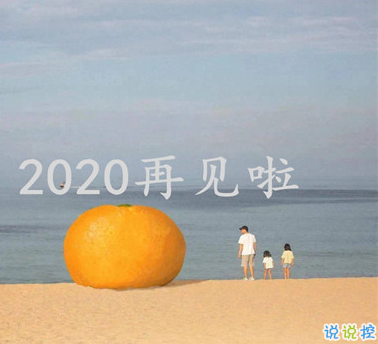 2020朋友圈最后一条朋友圈怎么发 对2020说再见的说说1
