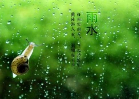 2021雨水节气的早安心情说说 雨水发朋友圈的早安正能量句子1