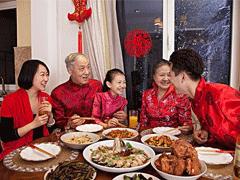 2021曬年夜飯的祝福句子 一家人吃年夜飯的心情說說