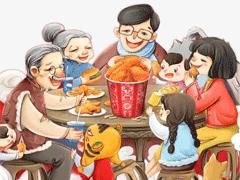 2021除夕吃團圓飯發朋友圈的心情說說 一家人一起吃年飯的幸福說說