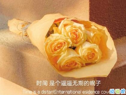 朋友圈晒花朵的优美文案 关于晒花朵的朋友圈2