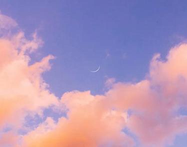 描写天空的优雅伴侣圈配图 伴侣圈发天空照的案牍2