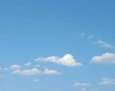 描写天空的优雅伴侣圈配图 伴侣圈发天空照的案牍9