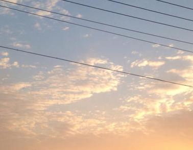 描写天空的优雅伴侣圈配图 伴侣圈发天空照的案牍14