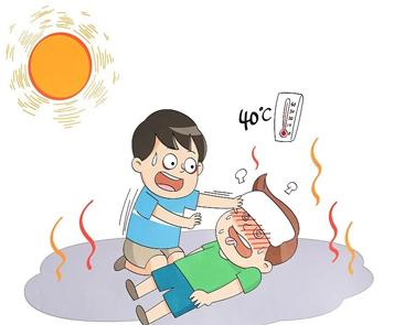 关于中暑发朋友圈的说说带图片 中暑发朋友圈的难过文案2