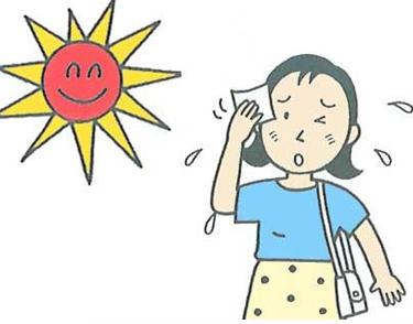 关于中暑发朋友圈的说说带图片 中暑发朋友圈的难过文案8