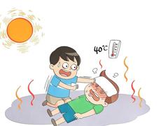 关于中暑发朋友圈的说说带图片 中暑发朋友圈的难过文案