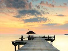 一个人在海边散步的说说 在海边散步的心情短句